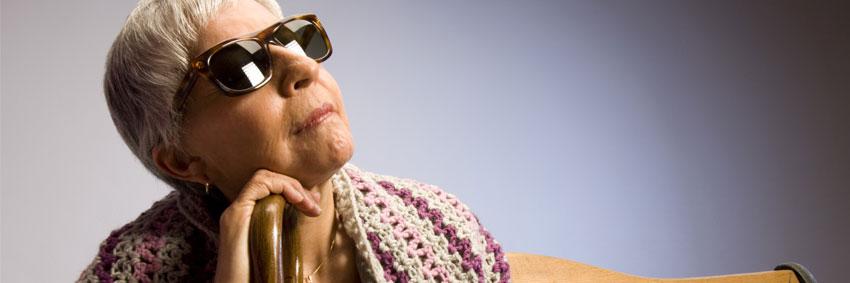 bannière vieille dame